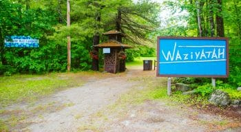 Waziyatah welcome sign